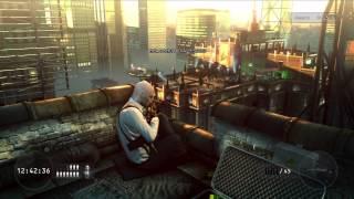 Hitman : Absolution - Sniper Challenge (Pre-Order Bonus) Gameplay HD (Xbox 360)