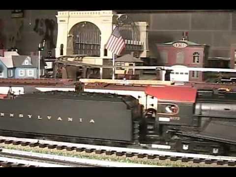 MTH Premier PRR J1 Texas (2-10-4) O-Gauge Steam Locomotive