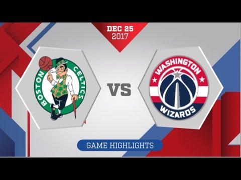 Washington Wizards vs Boston Celtics: December 25, 2017