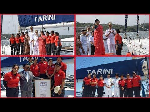 All-women Navy crew of INSV Tarini reaches Goa after circumnavigating globe
