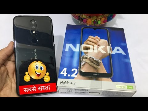 nokia-4.2-unboxing,-hands-on-review,-camera,-features-😍😘🔥