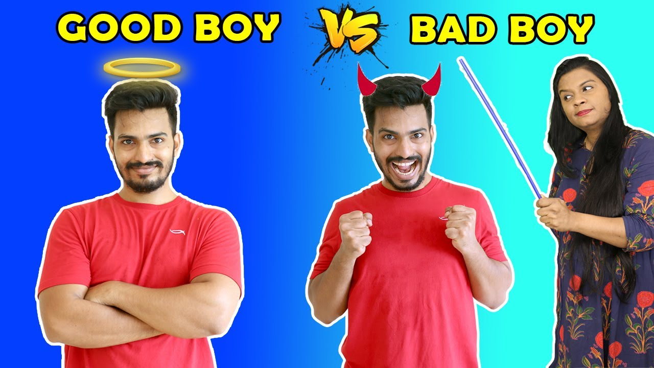 Good Boy Vs Bad Boy | Funny Video | Pari's Lifestyle