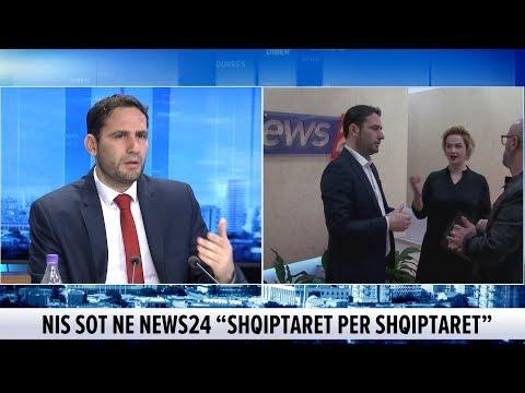 Sot emisioni më i ri në News24, moderatorja dhe Elvis Naçi zbulojnë pak nga detajet