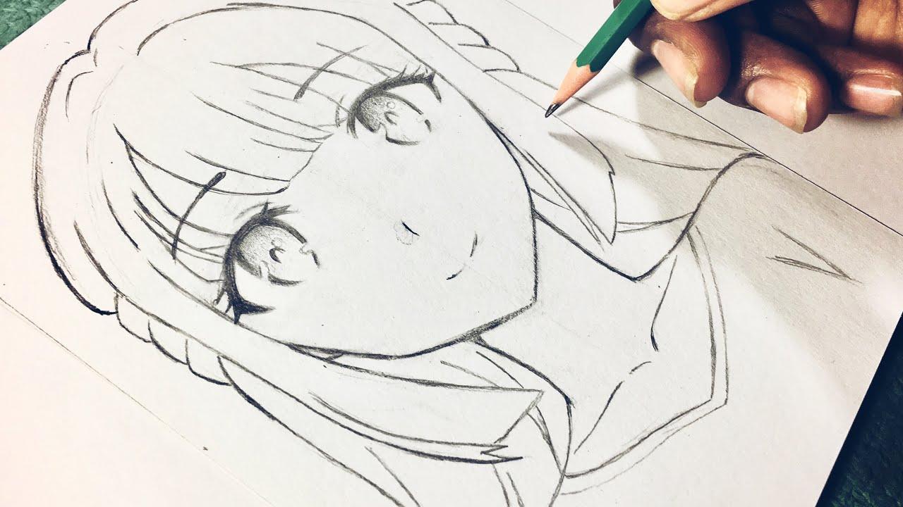 كيفية رسم فتاة انمي بالخطوات الصحيحة للمبتدعين اساسيات رسم الانمي