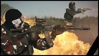 Airsoft War: Modern Combat Frontline In Real Life | TrueMOBSTER