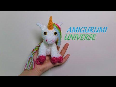 Patrón de Crochet en Inglés y Español - Mimi El Unicornio Amigable ... | 360x480