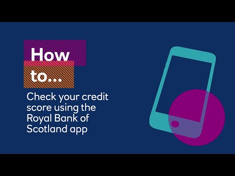 How to check your credit score on the Royal Bank app | Royal Bank
