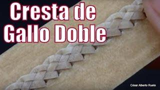 """Cresta de Gallo Doble """"El Rincón del Soguero"""""""