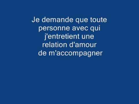 video nock musique    Dons Claude Cormier