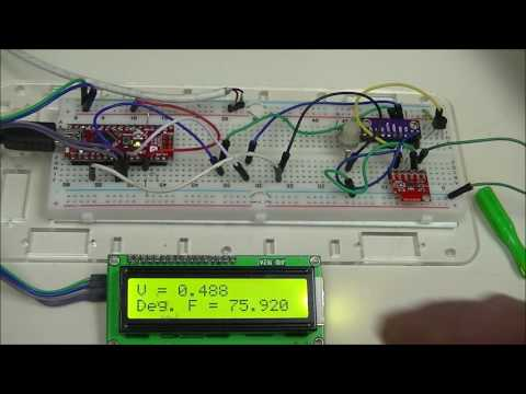 Arduino With ADS1115 4-Channel 16-bit Analog-to-Digital Converter