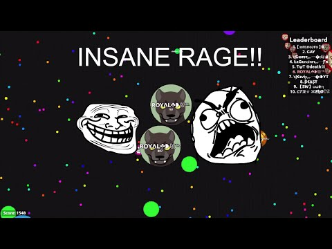 *NEW UNCUT* AGARIO TROLLING!! INSANE FUNNY MOMENTS!!