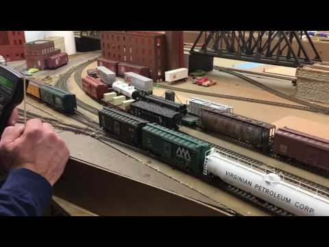 """New Haven Railroad Layout Update 26 """"First Ops Session"""""""