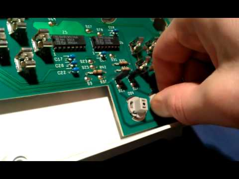 replacing light bulbs  chrysler instrument panel youtube