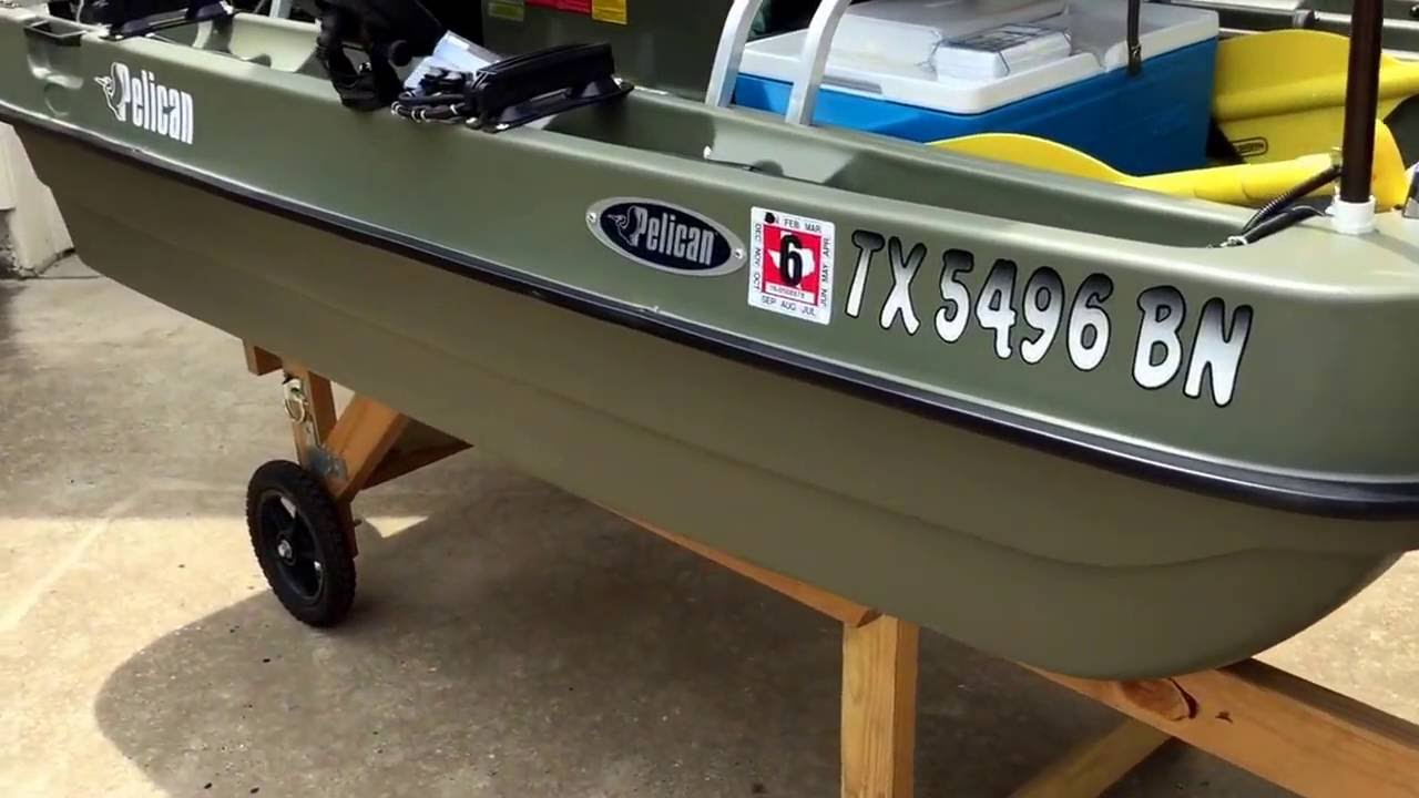 Pelican bass raider 8e two person fishing boat for Two man fishing boat