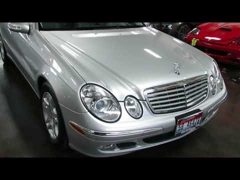 2005 Mercedes Benz E320 CDI FOR SALE at the Sun Valley Auto Club