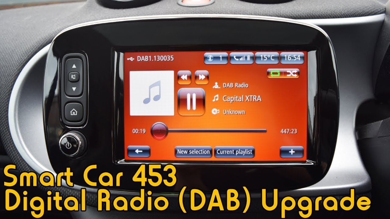 Smart Car 453 Digital Radio Upgrade