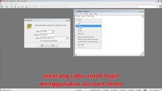 Tutorial Demo Account Forex