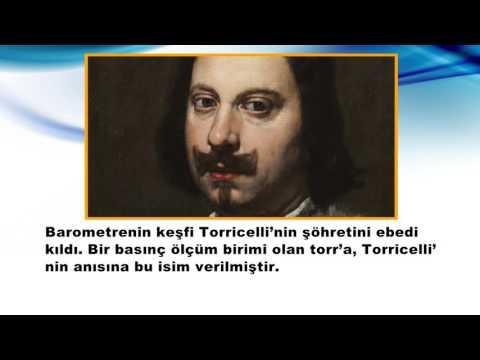 Torricelli Kimdir - BAROMETREYİ BULAN BİLİM ADAMI
