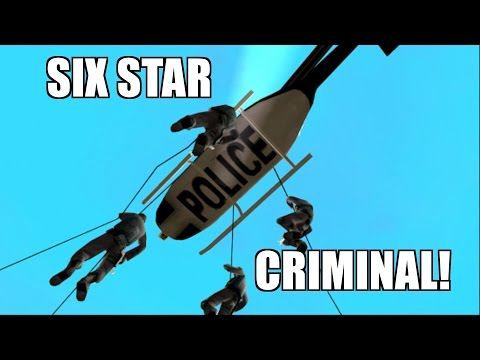 Grand Theft Auto San Andreas - Six Star Criminal!