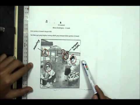 Teknik menjawab UPSR Bahagian A  Bahasa Malaysia