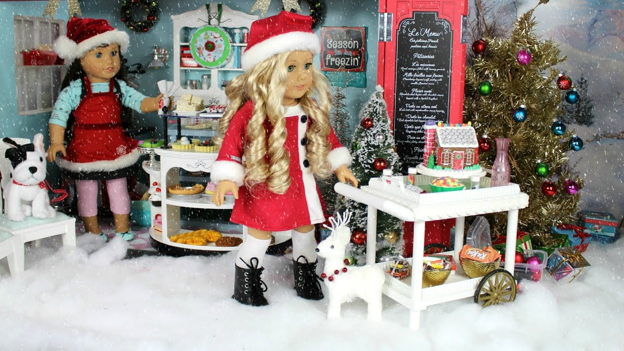 How to make christmas decorations for your ag doll - How To Make Christmas Decorations For Your Ag Doll