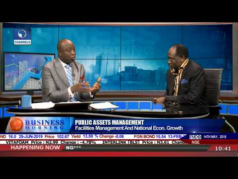 Ayeye Dissects Facilities Mgt & Nat'l Economic Growth Pt.1 |Business Morning|