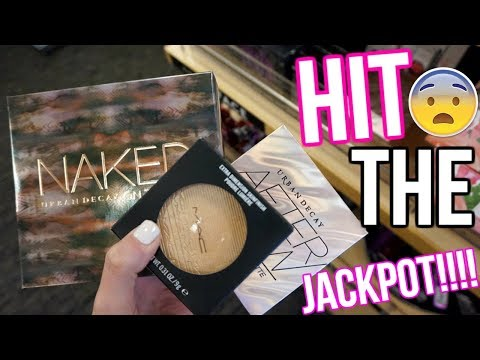 OMG NORDSTROM RACK JACKPOT!! BUDGET BEAUTY BUYS | HIGH END MAKEUP FOR CHEAP