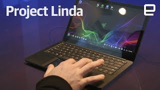 Razer's Project Linda hands-on at CES 2018