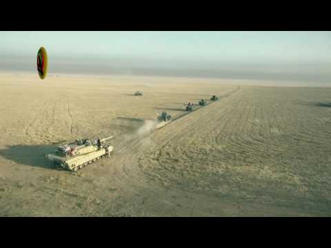 Drones over Mosul - Iraqi Army offensive to liberate Mosul viewed from above