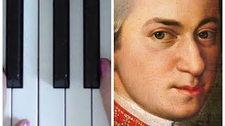 Turkish March by Mozart | EASY PIANO TUTORIAL