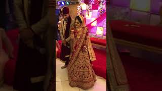 Bride's special wedding dance performance