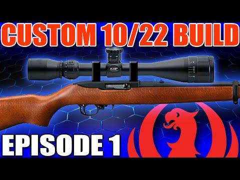 Ruger 10-22 Build Part 1: Optics