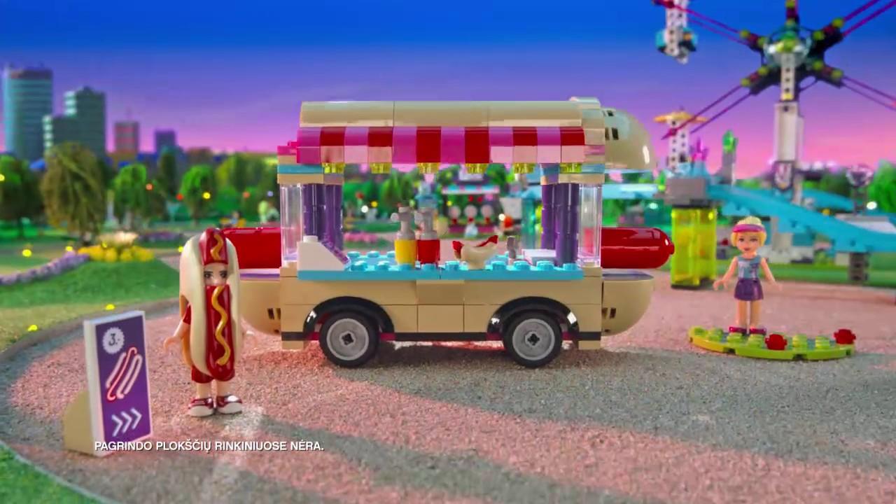 Lego Friends Pramogų Parko Rinkiniai Youtube