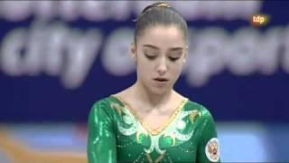 Aliya Mustafina World Gymnastics 2010 EF - VT