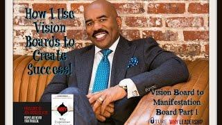 Vision Board to Manifestation Board Part 1