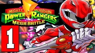 Mighty Morphin POWER RANGERS Mega Battle Gameplay Walkthrough Part 1 Lets Play [HD PS4 XBOX PC