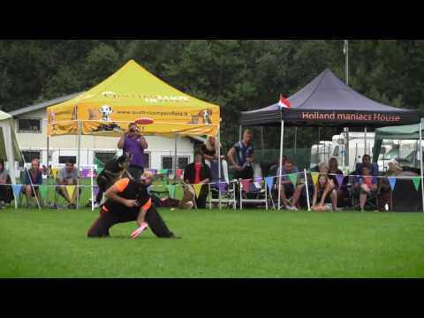 Adrian Stoica & RORY: UFO 2016 European Champions (DISC DOG, freestyle)