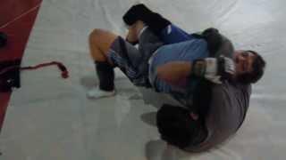sparring Jose vs Alex