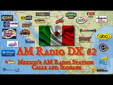 AM DXing from Utah - Mexican AM Radio Station Calls and Slogans
