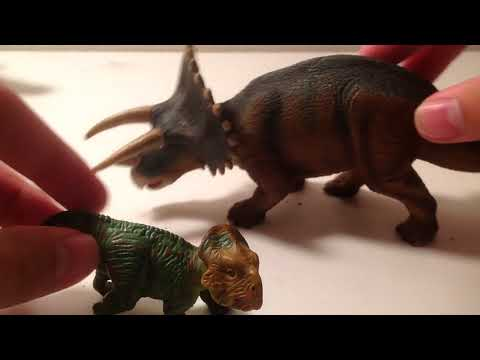 Safari Ltd 2004 dinosaurs Leptoceratops figure review