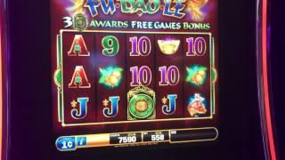 Slot Machine Bonus Win at Spa Resort Casino in Palm Springs