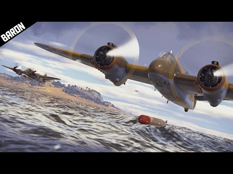 Beaufighter BEAST - War Thunder Planes Gameplay - Ground and Poud