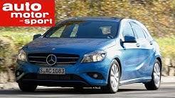 Fahrbericht Mercedes Benz A 180 Blue Efficiency Edition