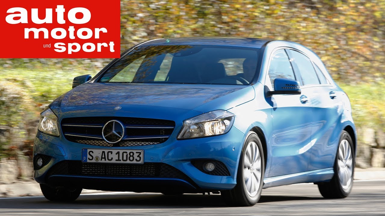 fahrbericht mercedes benz a 180 blue efficiency edition - youtube