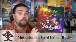 Mutants - Kickstarter Board Game Review