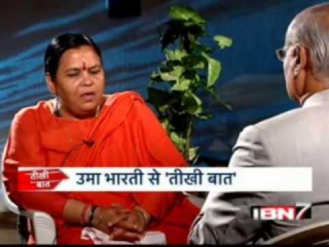 Teekhi Baat with Uma Bharti_Prabhu Chawla_IBN7
