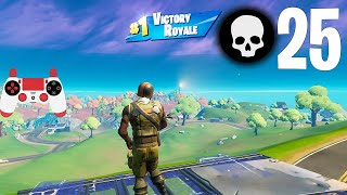 High Elimination Solo vs Squads Win Gameplay Full Game Season 6 (Fortnite Ps4 Controller)