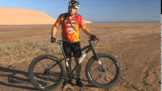 9:ZERO:7 Gates Belt Drive Rohloff in the Namib Desert