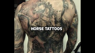 Horse Tattoos - Best Horse Tattoo Designs In The World