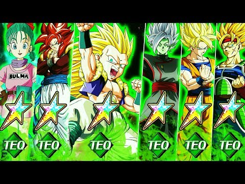 THIS TEAM IS ACTUALLY INSANE! 100% MAX POTENTIAL MONO TEQ TEAM SHOWCASE! DBZ Dokkan Battle